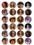 24 Stranger Things Edible Wafer Rice Cup Cake Toppers (1)